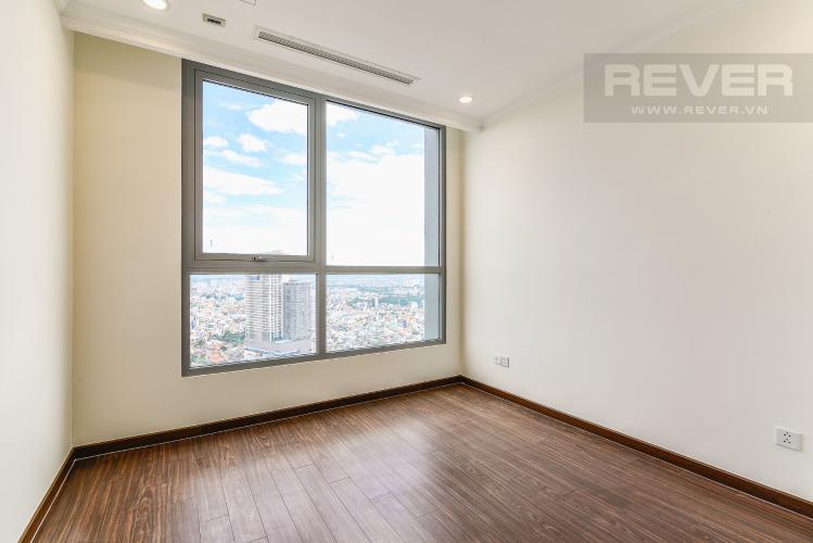Phòng Ngủ 2 Căn hộ Vinhomes Central Park 2 phòng ngủ tầng cao L5 view hướng Tây Bắc