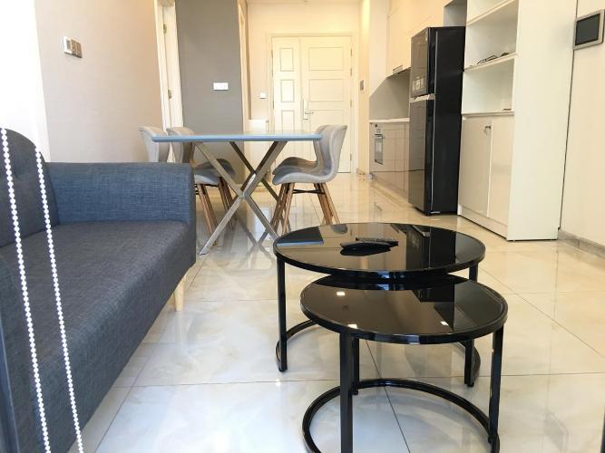 Cho thuê căn hộ Vinhomes Golden River 1PN, tháp The Aqua 3, đầy đủ nội thất, view Bitexco và sông Sài Gòn