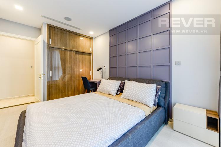 Phòng ngủ Bán và cho thuê căn hộ Vinhomes Golden River tầng trung, 1PN đầy đủ nội thất, view sông