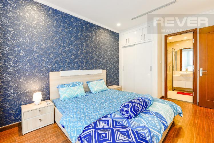 Phòng ngủ 1 Căn hộ Vinhomes Central Park 2 phòng ngủ tầng thấp L5 đầy đủ tiện nghi