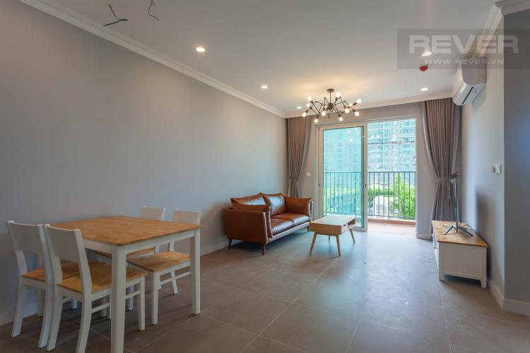 Tổng Quan Căn hộ Vista Verde tầng thấp, tháp T1, 2 phòng ngủ, full nội thất