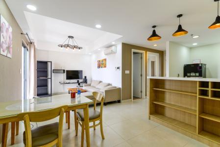 Cho thuê căn hộ Masteri Thảo Điền 2PN, tầng thấp, tháp T4, đầy đủ nội thất