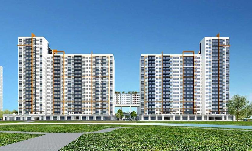 New City Thủ Thiêm, Quận 2 Căn hộ New City Thủ Thiêm tầng 16 nội thất đầy đủ, view nội khu.