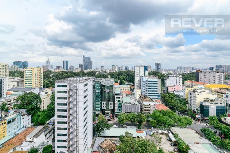 View Cho thuê căn hộ tầng cao Léman Luxury Apartments, 2PN, đầy đủ nội thất