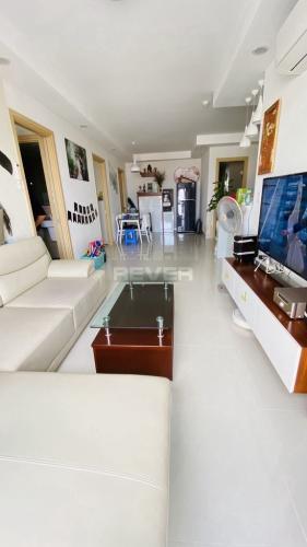 Phòng khách An Gia Garden, Tân Phú Căn hộ An Gia Garden tầng trung, ban công hướng Đông Nam mát mẻ.