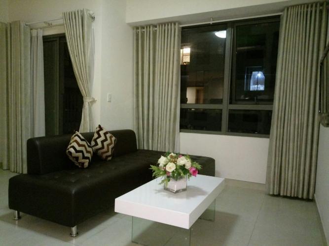 Phòng khách căn hộ Masteri Thảo Điền Căn hộ Masteri Thảo Điền tầng cao, view sông thoáng mát