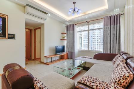 Căn hộ Sài Gòn Pearl 2 phòng ngủ tầng cao Ruby 2 view sông