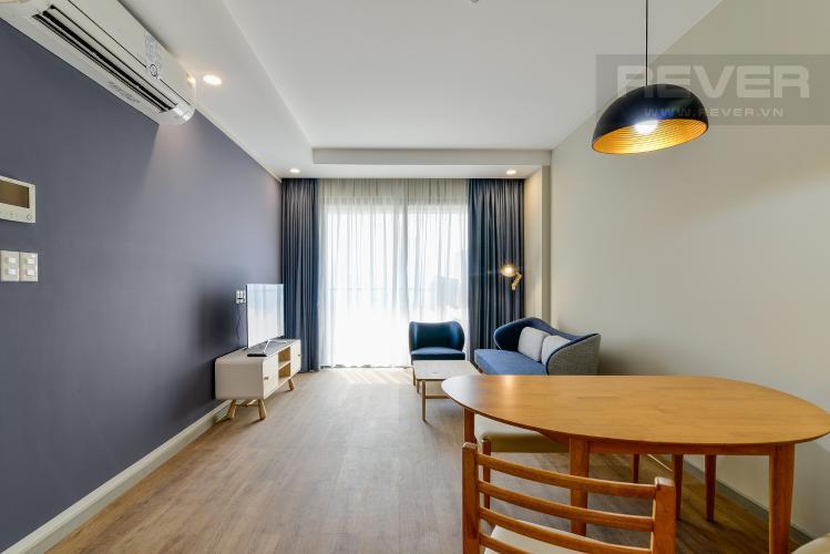 Tổng Quan Căn hộ The Gold View 2 phòng ngủ tầng thấp tháp B đầy đủ nội thất