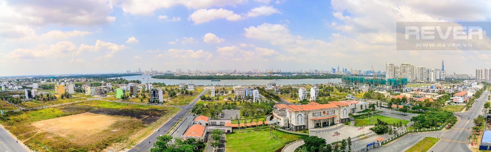 View Cho thuê căn hộ Vista Verde 4PN, view sông thoáng mát
