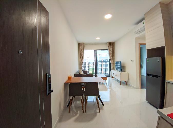 Cho thuê căn hộ tầng cao, đầy đủ nội thất Safira Khang Điền