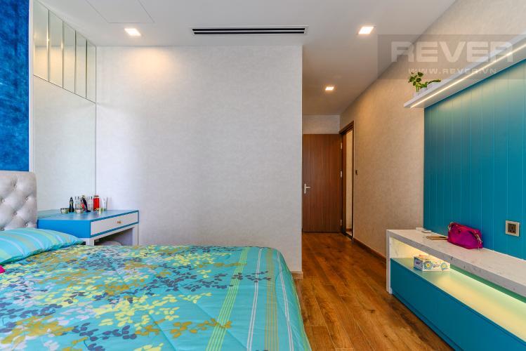 Phòng Ngủ 1 Căn hộ Vinhomes Central Park 4PN, tầng thấp, đầy đủ nội thất