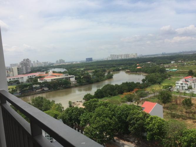 View căn hộ Sunrise Riverside Căn hộ Sunrise Riverside tầng trung, view sông thoáng mát.
