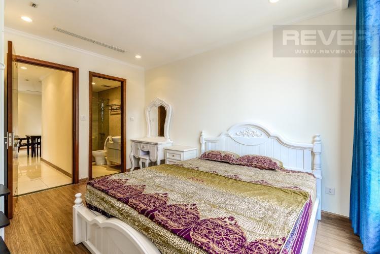 Phòng Ngủ 1 Cho thuê căn hộ Vinhomes Central Park tầng cao, 2PN đầy đủ nội thất, view nội khu