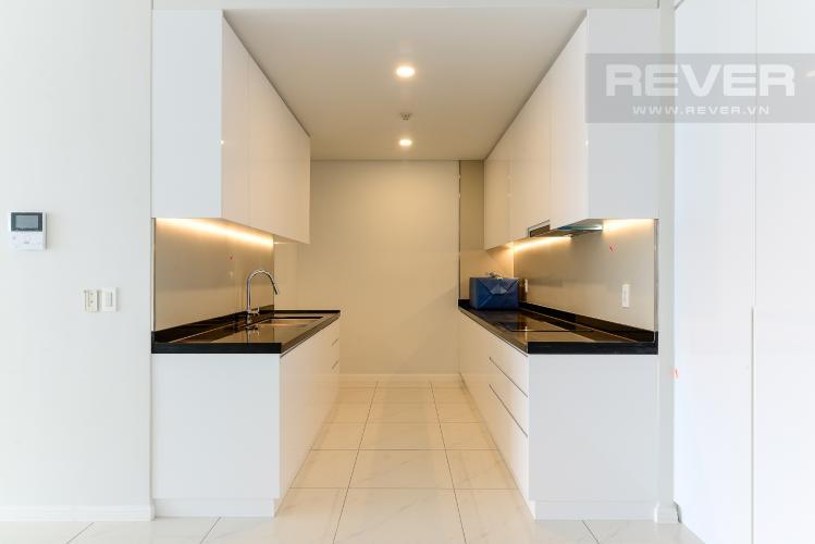 Bếp Cho thuê căn hộ Waterina Suites 3PN, tầng trung, nội thất cơ bản, view sông và Landmark 81