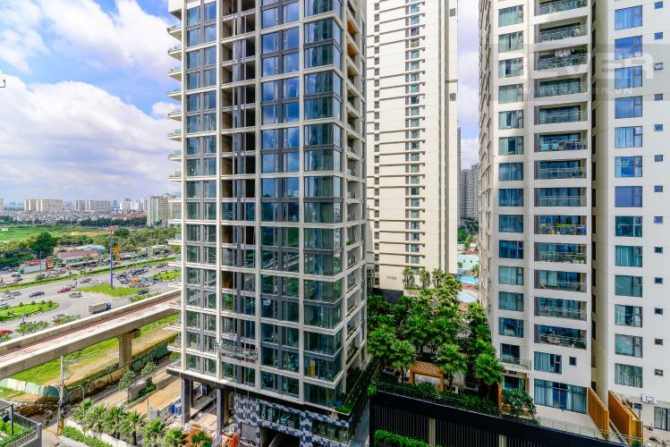 View Cho thuê căn hộ Masteri An Phú 1PN, tầng thấp, đầy đủ nội thất, view Xa lộ Hà Nội