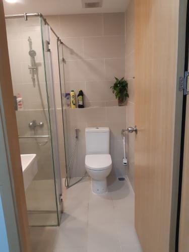 Phòng tắm  căn hộ An Gia Riverside Căn hộ An Gia Riverside đầy đủ nội thất, ban công thoáng mát.