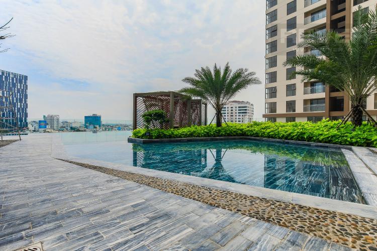 Hồ Bơi Cho thuê căn hộ Masteri Millennium tầng cao 2PN đầy đủ nội thất view sông