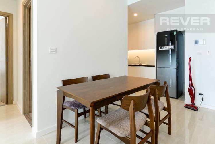Phòng Ăn Cho thuê căn hộ Sadora Apartment hướng Đông Bắc 2PN 2WC, view hồ bơi, nội thất cao cấp