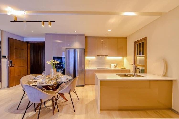 Phòng bếp căn hộ Masteri Centre Point, Quận 9 Căn hộ Masteri Centre Point nội thất cơ bản, view thoáng mát.