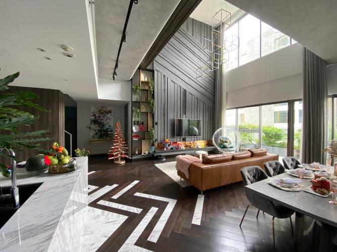 Căn hộ duplex Gateway Thảo Điền thiết kế phong cách Bắc Âu.