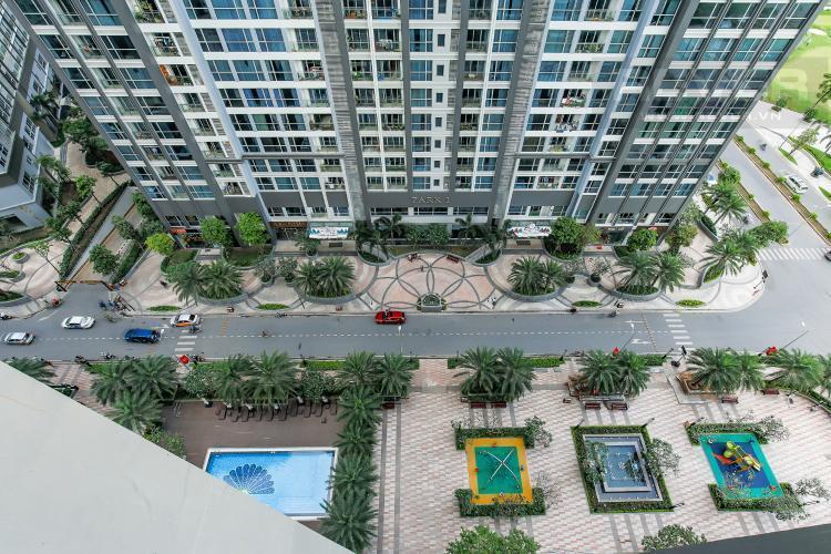 View Căn hộ Vinhomes Central Park tầng thấp, 1 phòng ngủ, view sông, full nội thất