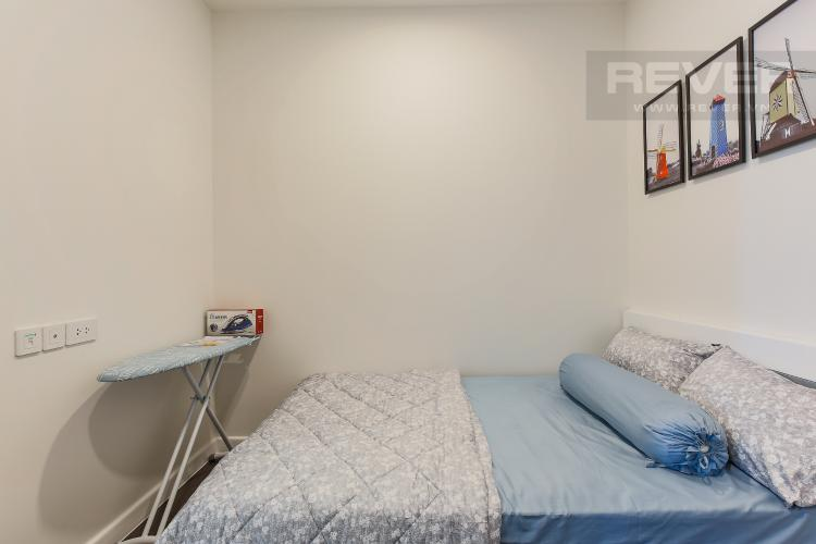 Phòng Ngủ 2 Căn hộ The Tresor 2 phòng ngủ tầng trung TS1 đầy đủ nội thất