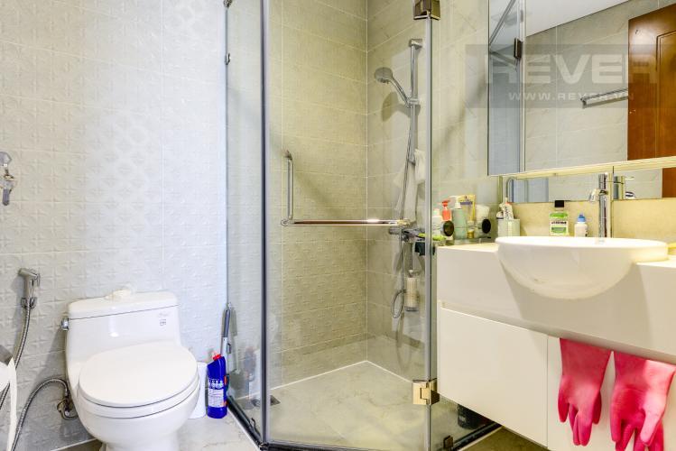 Phòng tắm 2 Căn hộ Vinhomes Central Park tầng cao, 2PN đầy đủ nội thất, view đẹp