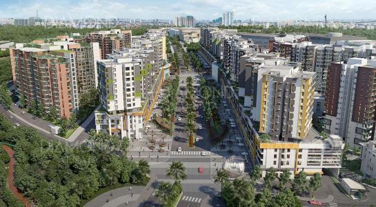Bán căn hộ Celadon City 2PN, tầng trung, diện tích 96m2, view nội khu và hồ cảnh quan