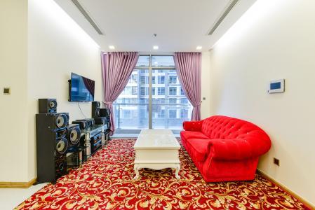 Căn hộ Vinhomes Central Park 2 phòng ngủ Park 4 view nội khu