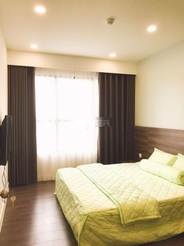 Phòng ngủ căn hộ The Sun Avenue, Quận 2 Căn hộ The Sun Avenue view tầng cao, đầy đủ nội thất tiện nghi.