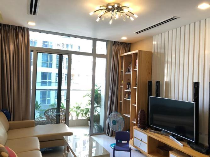 Cho thuê căn hộ Vinhomes Central Park 3PN, tháp Park 1, diện tích 111m2, đầy đủ nội thất