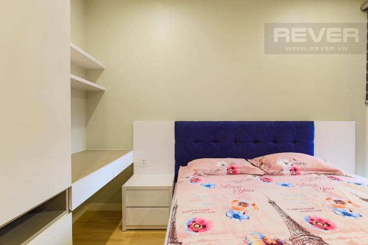 Phòng Ngủ 1 Cho thuê căn hộ Masteri Millennium tầng cao, 2PN đầy đủ nội thất view sông