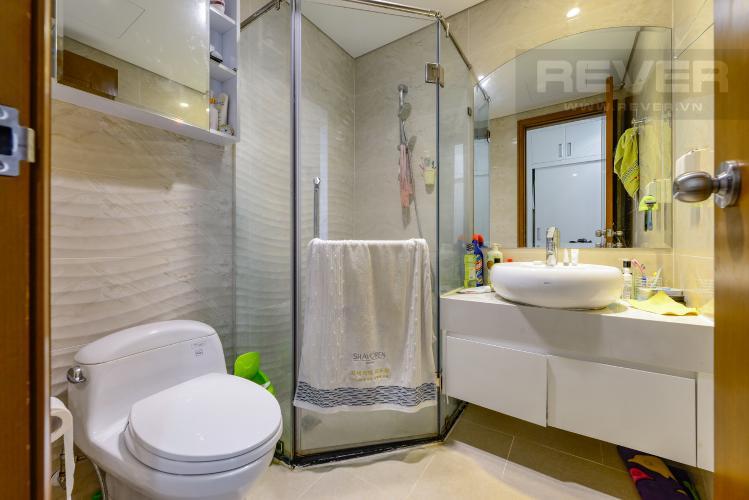 Phòng tắm 1 Bán căn hộ Vinhomes Central Park 3PN nội thất đầy đủ, có thể dọn vào ở ngay