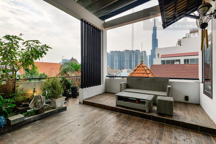 Ban Công Sân Thượng Cho thuê nhà phố 5 tầng, tọa lạc trên đường số 33, Phường Bình An, Quận 2