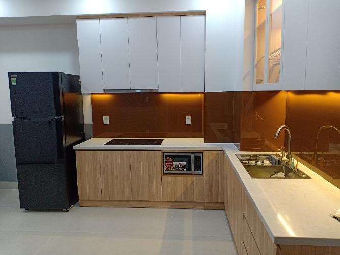 Nhà bếp căn hộ Saigon South Residences Căn hộ Saigon South Residences tầng thấp, đầy đủ nội thất