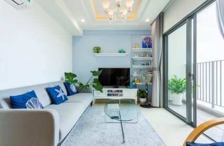 Căn hộ Masteri Thảo Điền tầng cao T3 view sông, đầy đủ nội thất