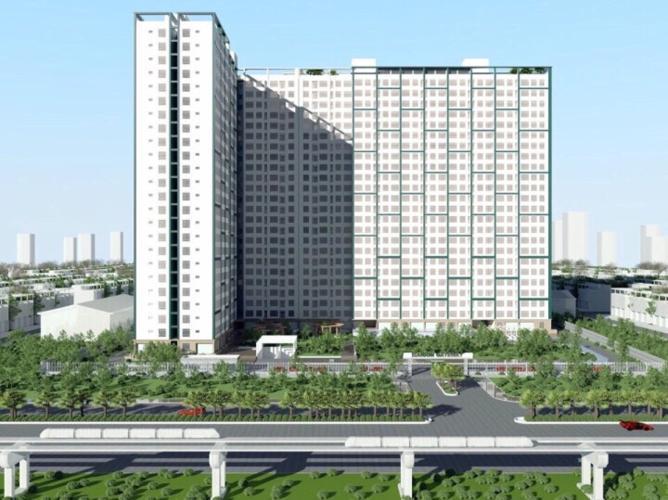 Saigon Gateway, Quận 9 Căn hộ Saigon Gateway 2 phòng ngủ nội thất cơ bản, view thành phố.