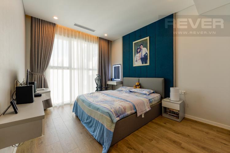 Phòng ngủ 1 Căn hộ Sadora Sala Đại Quang Minh 2PN đầy đủ nội thất, view hồ bơi và công viên