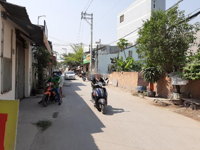 Đường nhà phố Nhà phố Quận 12 hướng Tây Nam, diện tích đất 6mx16m.
