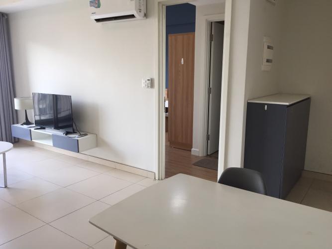 không gian căn hộ Masteri Thảo Điền Căn hộ Masteri Thảo Điền 2 phòng ngủ, view sông và thành phố.