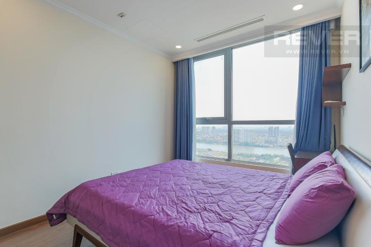 Phòng Ngủ 1 Bán căn hộ Vinhomes Central Park 2PN, tầng cao, nội thất đầy đủ, view sông thoáng mát