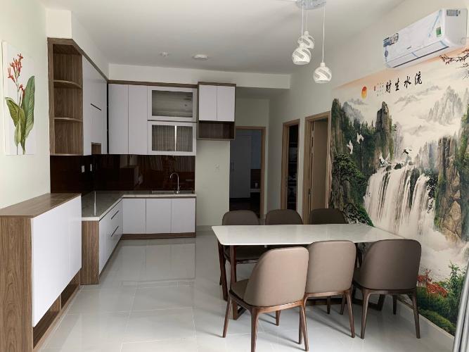 Phòng bếp Jamila Khang Điền, Quận 9 Căn hộ Jamila Khang Điền tầng thấp, view thành phố thoáng mát.