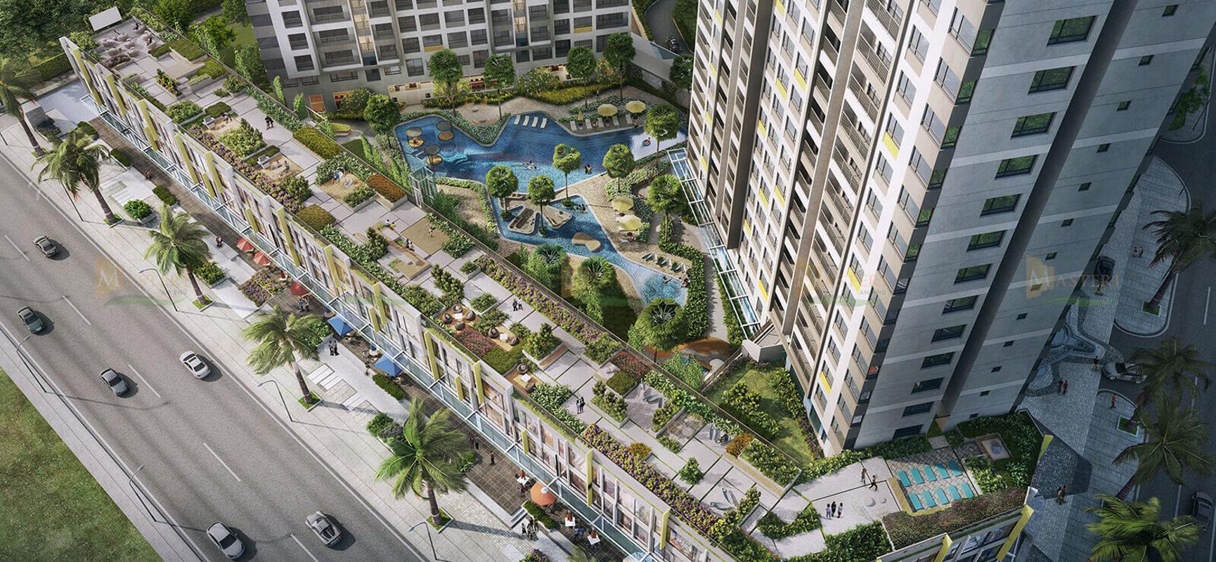 can-ho-masteri-an-phu-quan-2-4 Bán căn hộ Masteri An Phú 2 phòng ngủ, tầng cao, tháp A, đầy đủ nội thất, hướng Tây Bắc