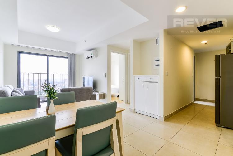 Phòng Khách Căn hộ Masteri Thảo Điền 2 phòng ngủ tầng cao T3 hướng Tây Bắc