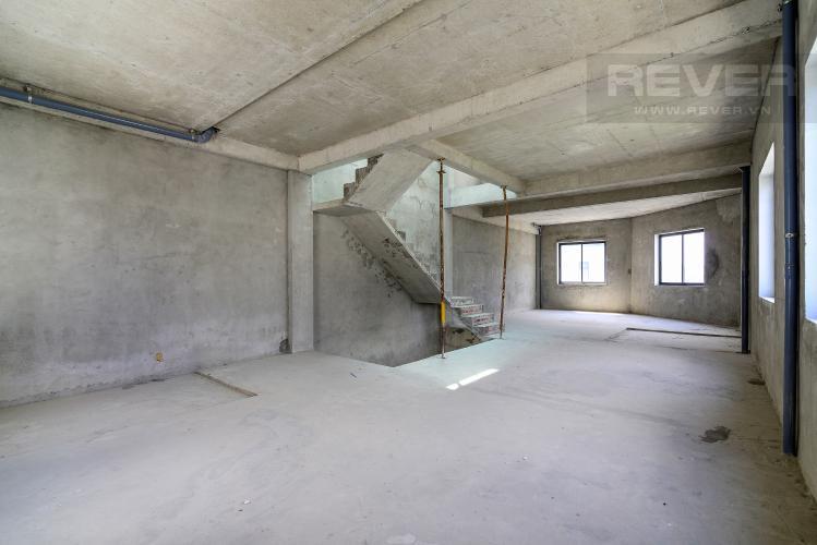 Tầng 2 Bán nhà phố Lakeview City 3PN 3WC, nhà trống không có nội thất, view khu đô thị