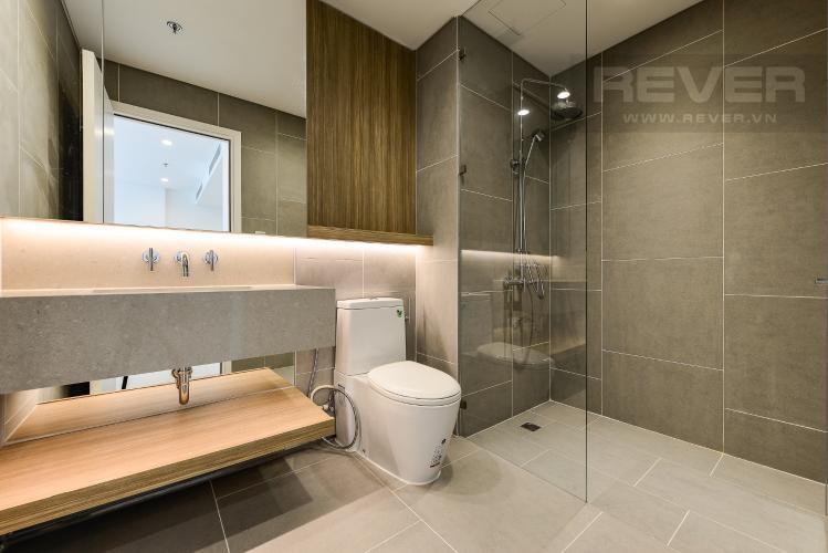 Phòng tắm Cho thuê căn hộ City Garden 1PN, tầng cao, đầy đủ nội thất