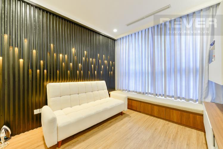 Phòng ngủ 3 Căn góc Vinhomes Central Park 3 phòng ngủ tầng cao L1 đầy đủ nội thất