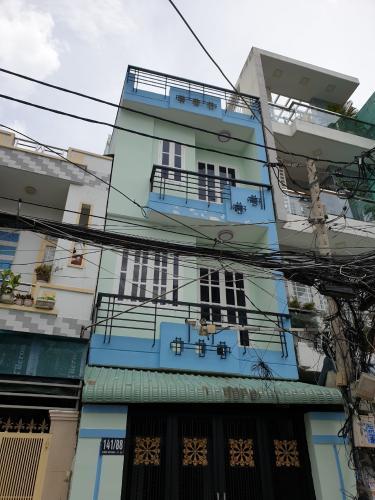 Nhà phố hẻm xe hơi, khu dân cư an ninh sầm uất, nội thất cơ bản.