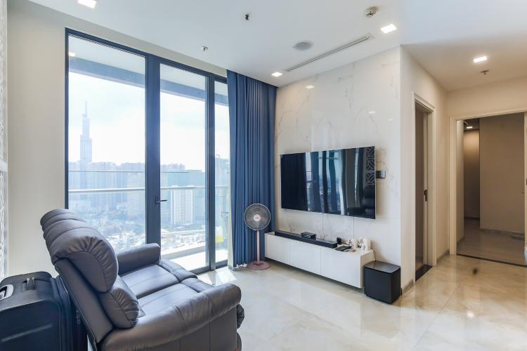 Bán căn hộ Vinhomes Golden River 2PN, tháp The Aqua 4, đầy đủ nội thất, view sông Sài Gòn và Landmark 81