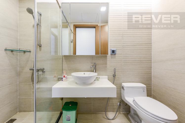 Phòng tắm 2 Căn hộ Vinhomes Central Park 2 phòng ngủ tầng trung P7 nội thất đầy đủ